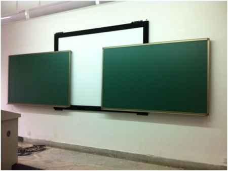 平行推拉黑板