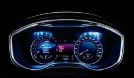 汽车仪表显示屏