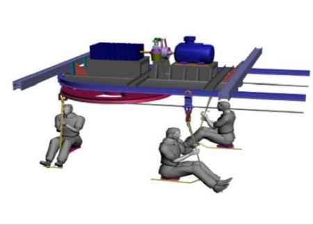 绳牵引单轨吊运输系统