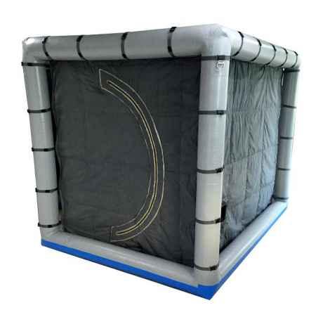 室内气柱式电磁屏蔽帐篷