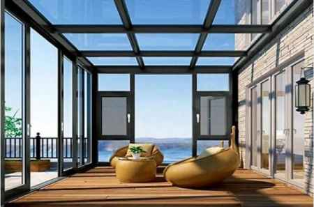 河南玻璃阳光房