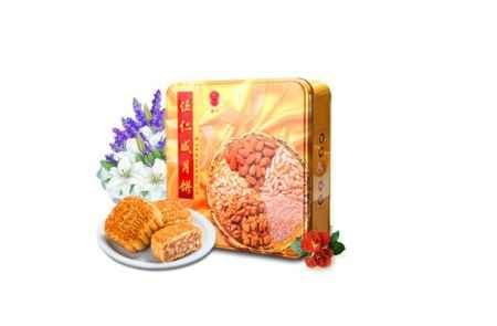 广东香兰咸五仁月饼