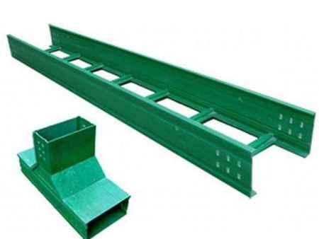 玻璃钢200梯式桥架