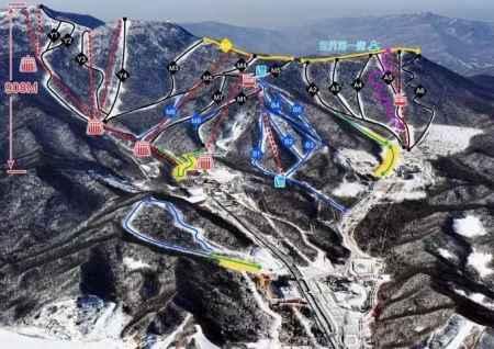 滑雪场景区规划及二次改扩建销售